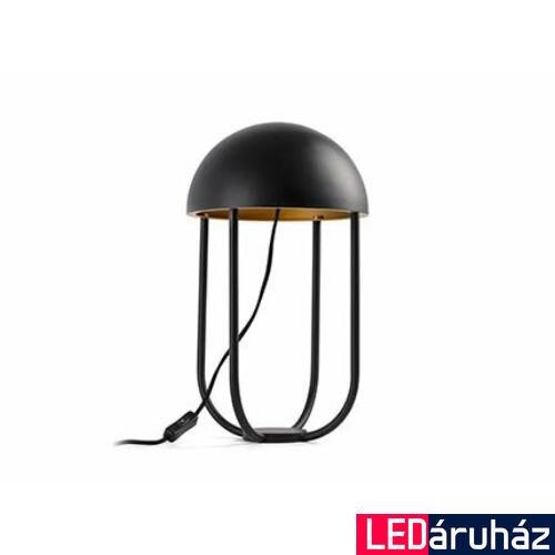 FARO JELLYFISH asztali lámpa, fekete, 3000K melegfehér, beépített LED, 6W, IP20, 24522
