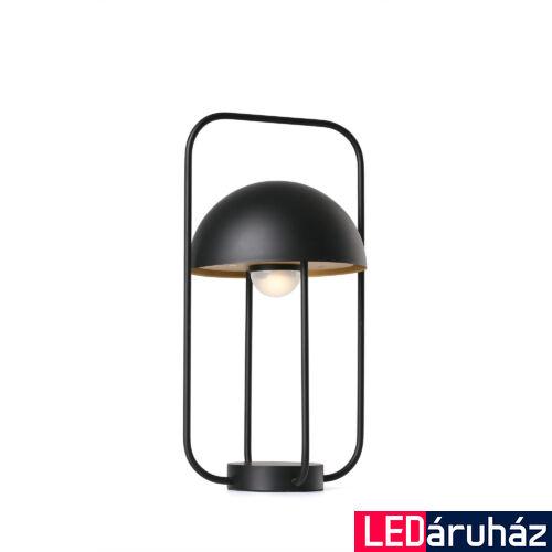 FARO JELLYFISH asztali lámpa, fekete, 2700K melegfehér, fényforrással, 3W, IP20, 24523