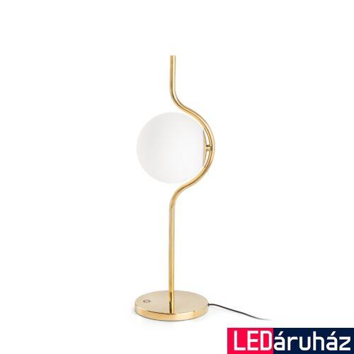 FARO LE VITA asztali lámpa, fényerőszabályozható, arany, 2700K melegfehér, beépített LED, 6W, IP20, 29692D