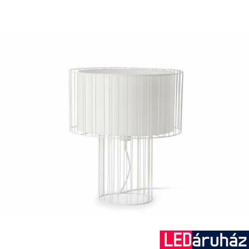 FARO LINDA asztali lámpa, fehér, E27 foglalattal, IP20, 29307