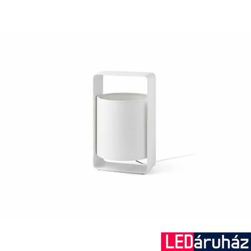 FARO LULA-P asztali lámpa, fehér, E27 foglalattal, IP20, 28380