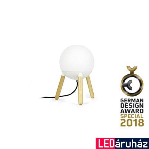 FARO MINE asztali lámpa, fehér, E27 foglalattal, IP20, 28211