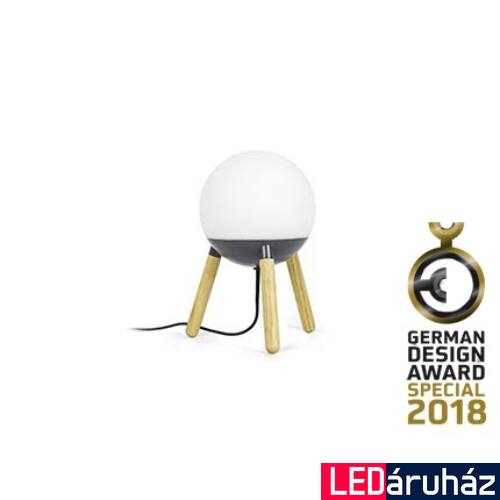 FARO MINE asztali lámpa, szürke, E27 foglalattal, IP20, 28379