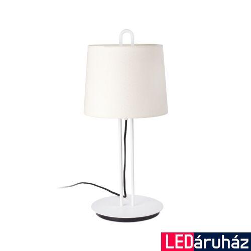 FARO MONTREAL asztali lámpa, bura nélkül, fehér, E27 foglalattal, IP20, 24034