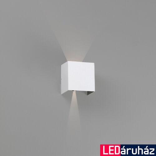 FARO OLAN kültéri fali lámpa, fehér, 3000K melegfehér, beépített LED, 6W, IP54, 70269