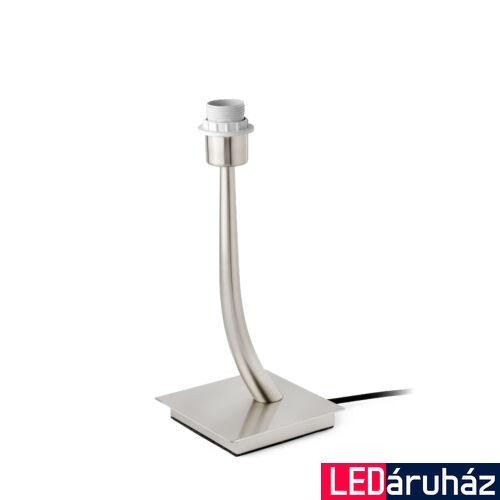 FARO REM asztali lámpa, bura nélkül, nikkel, E27 foglalattal, IP20, 29684