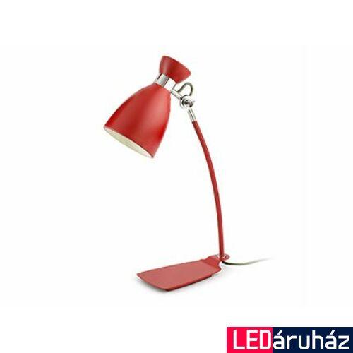 FARO RETRO asztali lámpa, piros, E14 foglalattal, IP20, 20005