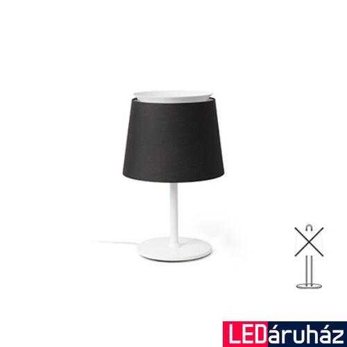 FARO SAVOY asztali lámpa, bura nélkül, fehér, E27 foglalattal, IP20, 20304
