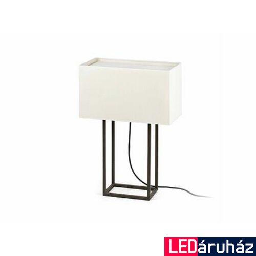 FARO VESPER asztali lámpa, barna, E27 foglalattal, IP20, 29985