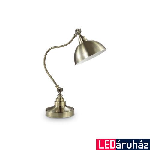 IDEAL LUX AMSTERDAM asztali lámpa E27 foglalattal, max. 60W, 52 cm magasság, antikolt fém 131733