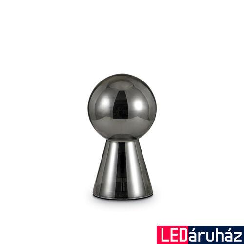 IDEAL LUX BIRILLO asztali lámpa E27 foglalattal, max. 60W, 30 cm, füst üveg 116570