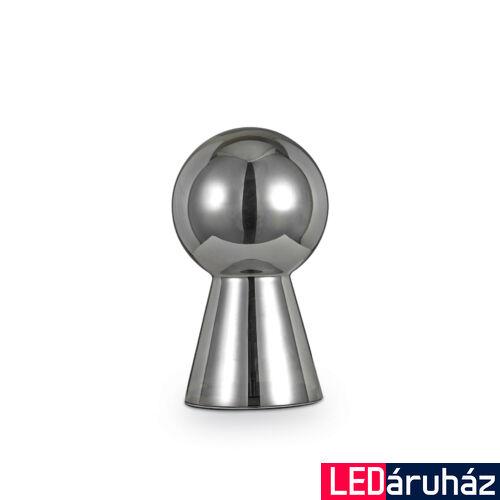 IDEAL LUX BIRILLO asztali lámpa E27 foglalattal, max. 60W, 39 cm, füst üveg 116587