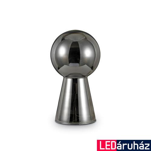 IDEAL LUX BIRILLO asztali lámpa E27 foglalattal, max. 60W, 54,5 cm, füst üveg 116594