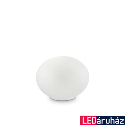 IDEAL LUX CANDY asztali lámpa G9 foglalattal, max. 40W, 14 cm átmérő, fehér 32078