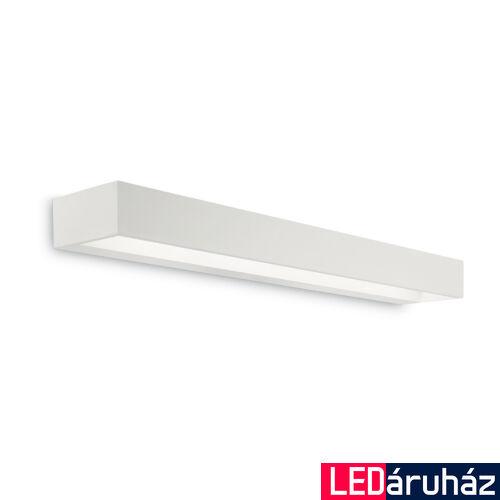 IDEAL LUX CUBE fali lámpa, beépített LED, 12W, 1200 lm, 3000K melegfehér, 60x5 cm, fehér 161792