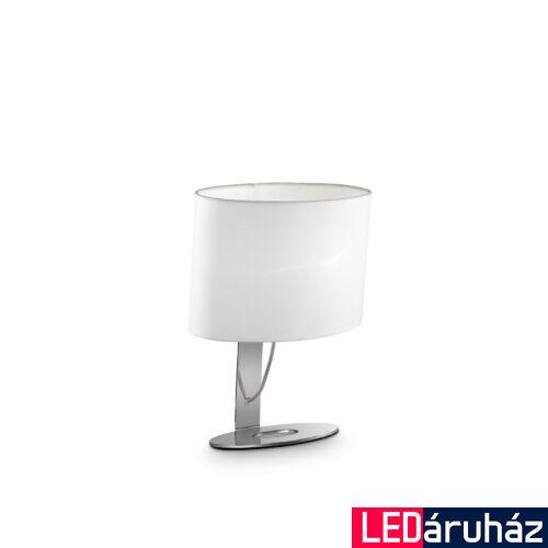 IDEAL LUX DESIREE asztali lámpa E14 foglalattal, max. 40W, 26x34,5 cm, fehér 74870