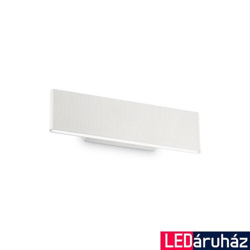 IDEAL LUX DESK fali lámpa, beépített LED, 12W, 1100 lm, 3000K melegfehér, 28,5x8 cm, fehér 138251