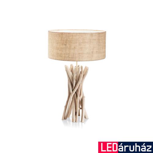 IDEAL LUX DRIFTWOOD asztali lámpa E27 foglalattal, max. 60W, 52 cm magas, fa 129570