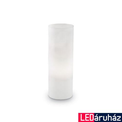 IDEAL LUX EDO asztali lámpa E27 foglalattal, max. 60W, 35 cm magas, fehér 44590
