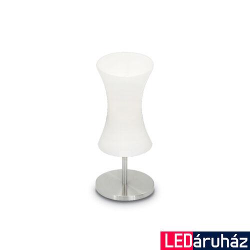 IDEAL LUX ELICA asztali lámpa E14 foglalattal, max. 40W, 32 cm magasság, fehér 14593