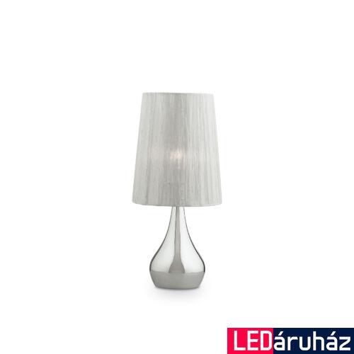 IDEAL LUX ETERNITY asztali lámpa E27 foglalattal, max. 60W, 41 cm magas, fehér 35987