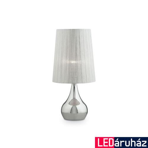IDEAL LUX ETERNITY asztali lámpa E27 foglalattal, max. 60W, 61 cm magas, fehér 36007
