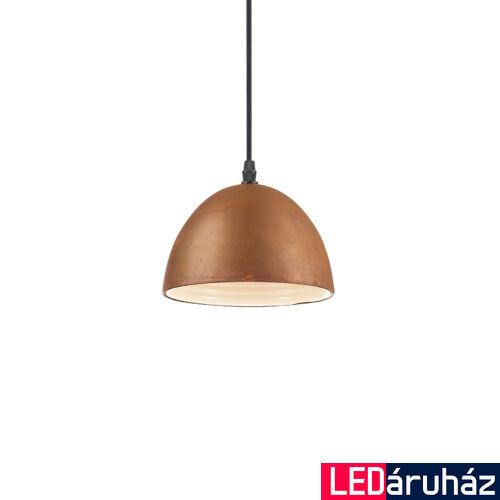 IDEAL LUX FOLK függesztett lámpa E27 foglalattal, max. 60W, 18 cm átmérő, rozsda 174204