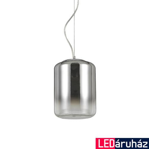 IDEAL LUX KEN függesztett lámpa E27 foglalattal, max. 60W, 19,5 cm átmérő, füstüveg 112084