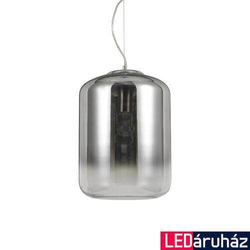 IDEAL LUX KEN függesztett lámpa E27 foglalattal, max. 60W, 30 cm átmérő, füstüveg 112107