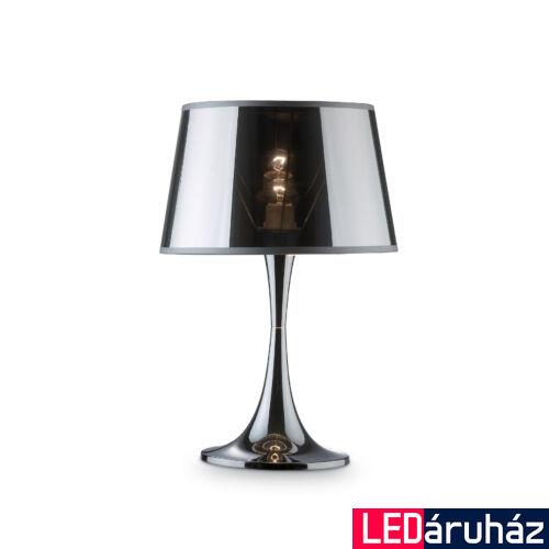 IDEAL LUX LONDON asztali lámpa E27 foglalattal, max. 60W, 48,5 cm magas, króm 32375