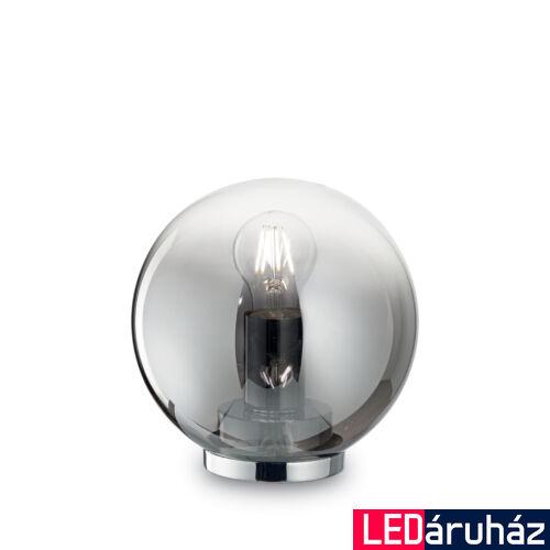 IDEAL LUX MAPA asztali lámpa E27 foglalattal, max. 60W, 21 cm magas, füstüveg 186863