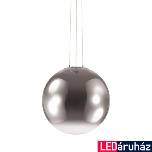 IDEAL LUX MAPA függesztett lámpa E27 foglalattal, max. 60W, 50 cm átmérő, füstüveg 161327