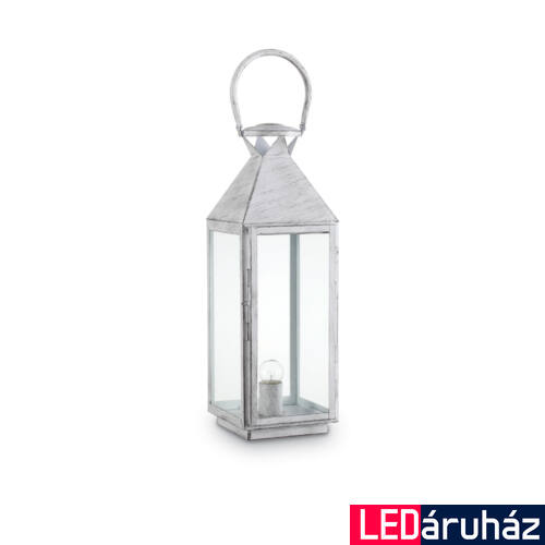 IDEAL LUX MERMAID asztali lámpa E27 foglalattal, max. 60W, 19x68 cm, antikolt fehér 166766