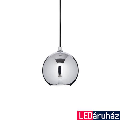 IDEAL LUX MR. JACK függesztett lámpa GU10 foglalattal, max. 28W, 15 cm átmérő, króm 116464