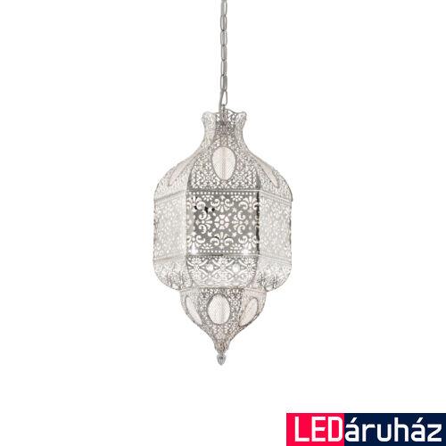 IDEAL LUX NAWA-1 függesztett lámpa 3 db. E27 foglalattal, max. 3x60W, 26 cm átmérő, ezüst 141923