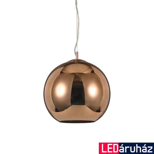 IDEAL LUX NEMO függesztett lámpa E27 foglalattal, max. 60W, 30 cm átmérő, réz 111902