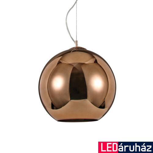 IDEAL LUX NEMO függesztett lámpa E27 foglalattal, max. 60W, 40 cm átmérő, réz 111919