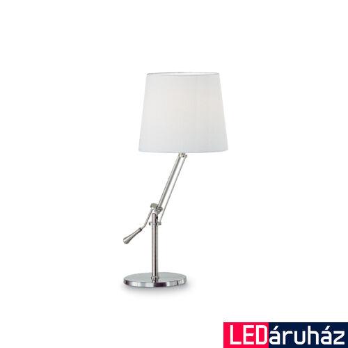 IDEAL LUX REGOL asztali lámpa E27 foglalattal, max. 60W, 68 cm magas, fehér 14616