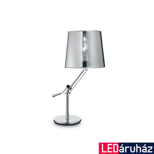 IDEAL LUX REGOL asztali lámpa E27 foglalattal, max. 60W, 68 cm magas, króm 19772