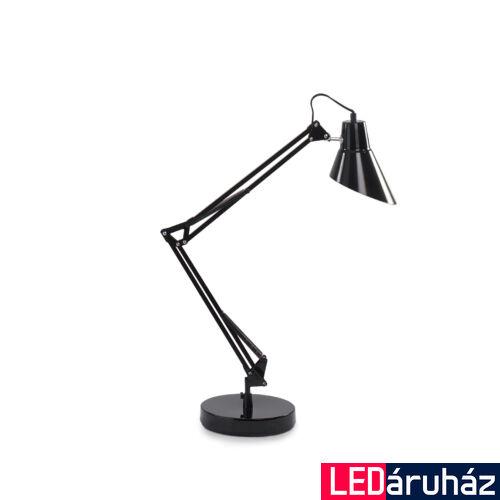 IDEAL LUX SALLY asztali lámpa E27 foglalattal, max. 42W, 15 cm bura átmérő, fekete 61160