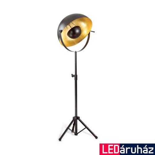 IDEAL LUX STAGE állólámpa E27 foglalattal, max. 60W, 140 cm magas, fekete 132778