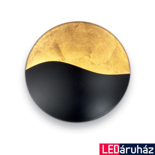 IDEAL LUX SUNRISE fali lámpa 4 db. G9 foglalattal, max. 4x40W, 35 cm átmérő, fekete 133300