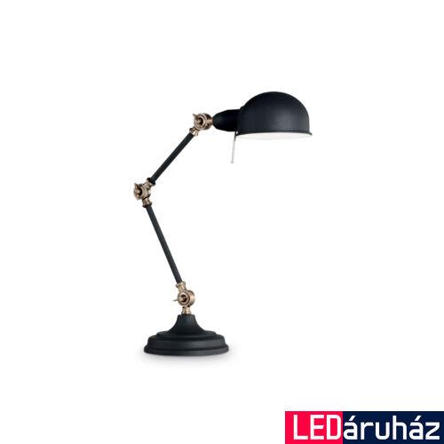 IDEAL LUX TRUMAN asztali lámpa E27 foglalattal, max. 60W, állítható magasság, fekete 145211