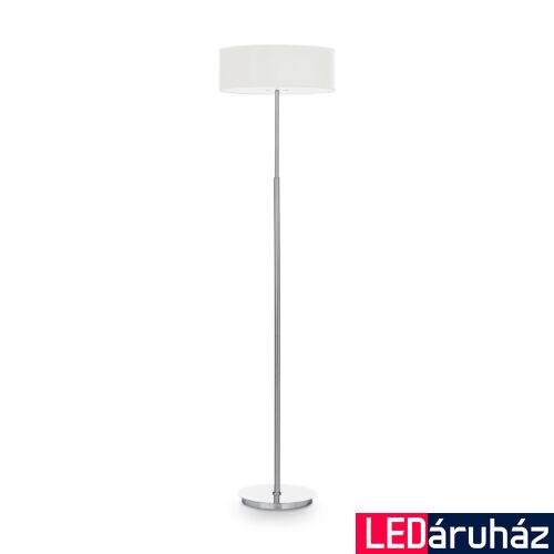 IDEAL LUX WOODY állólámpa 2 db. E14 foglalattal, max. 2x40W, 158,5 cm magas, fehér 143163