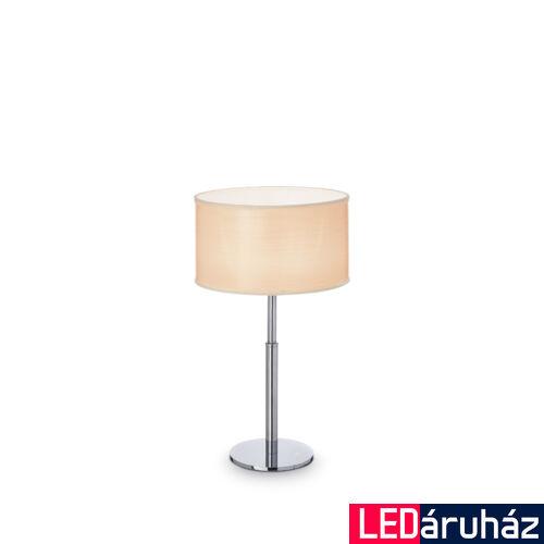 IDEAL LUX WOODY asztali lámpa G9 foglalattal, max. 40W, 35 cm magas, fa 87672