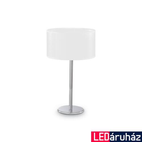 IDEAL LUX WOODY asztali lámpa G9 foglalattal, max. 40W, 35 cm magas, fehér 143187