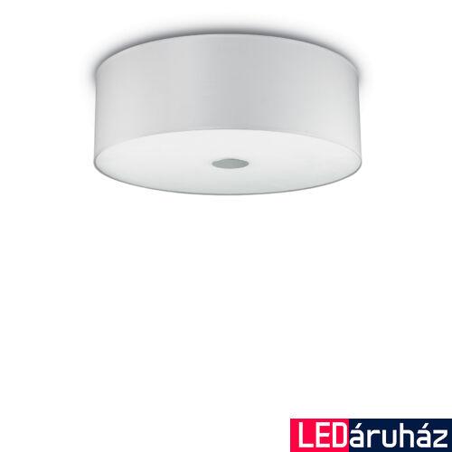 IDEAL LUX WOODY mennyezeti lámpa 5 db. E27 foglalattal, max. 5x60W, 60 cm átmérő, fehér 122205