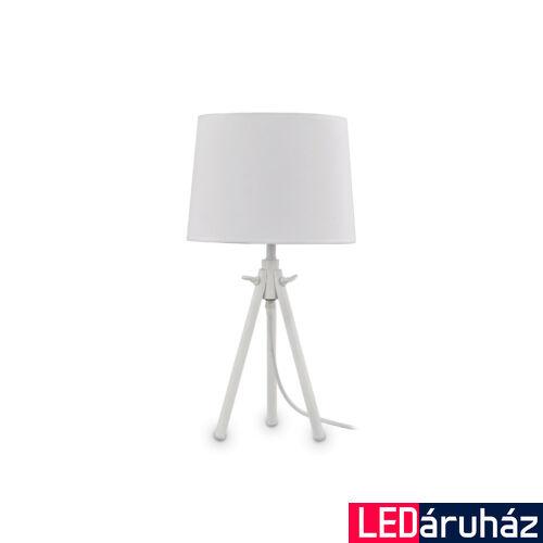 IDEAL LUX YORK asztali lámpa E27 foglalattal, max. 60W, 46 cm magas, fehér 121376