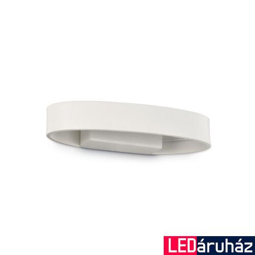 IDEAL LUX ZED fali lámpa, beépített LED, 5W, 390 lm, 3000K melegfehér, 22x3,5 cm, fehér 115153