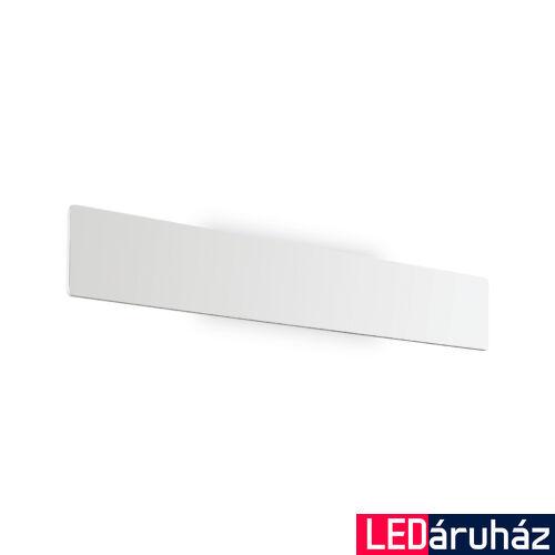 IDEAL LUX ZIG ZAG fali lámpa, beépített LED, 22W, 2090 lm, 3000K melegfehér, 53x7,5 cm, fehér 179308